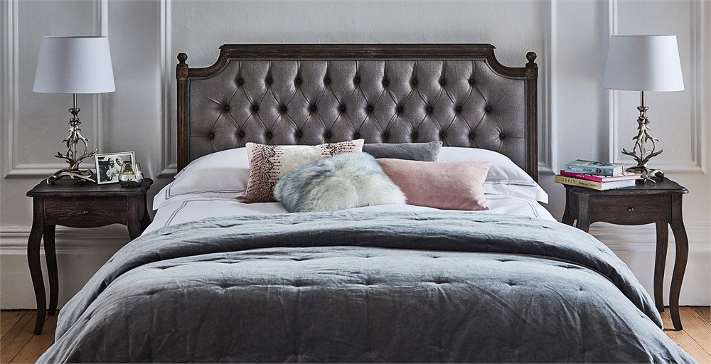 Loire Grey Bed